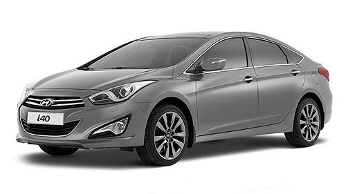Wypożyczalnia samochodów - Hyundai I40 Automat
