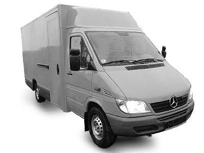 Wypożyczalnia samochodów - Mercedes – Benz Sprinter 413 CDI